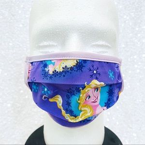 🔴4/$25 disney frozen elsa & anna child face mask